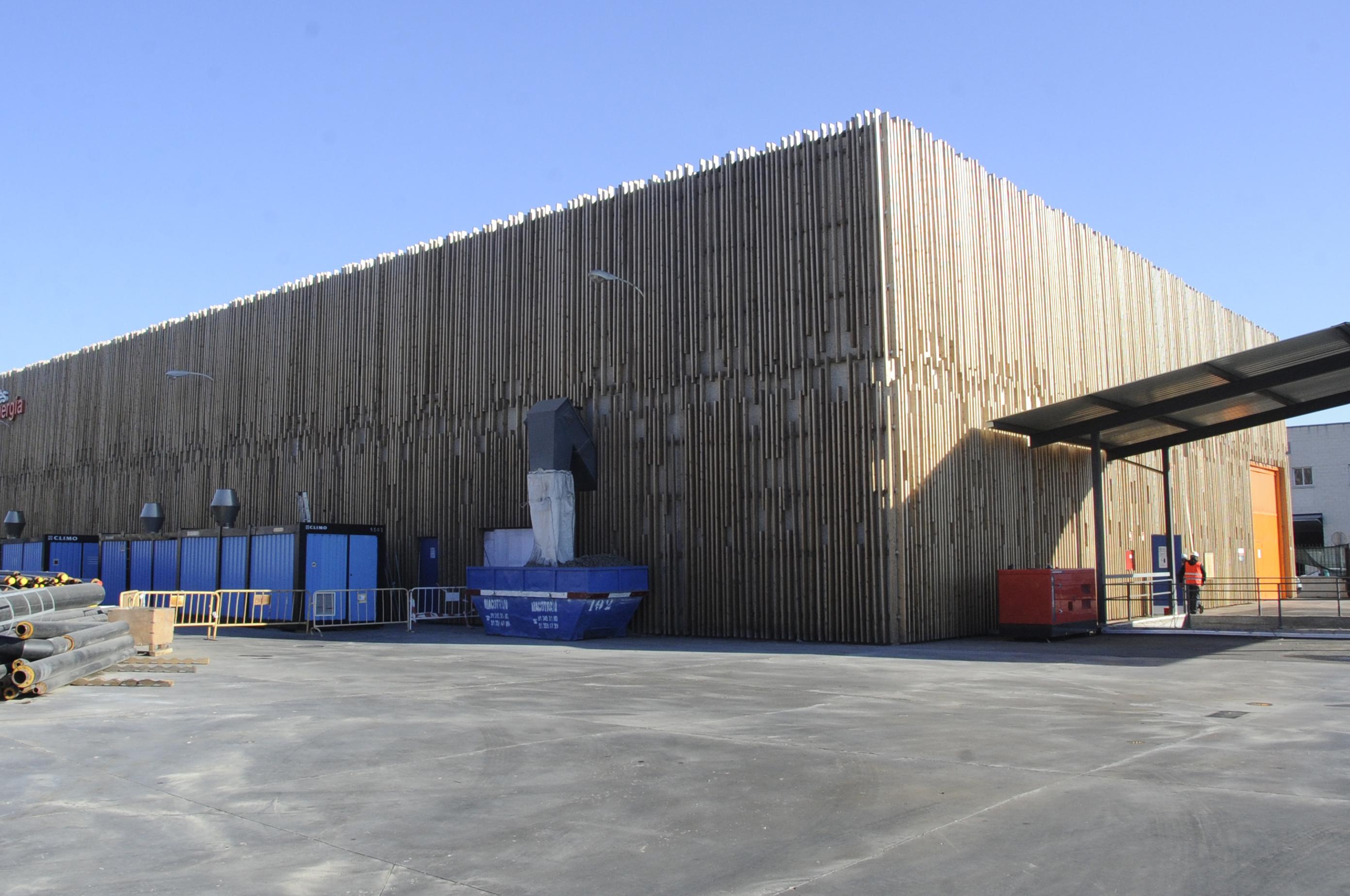 Planta biomasa mostoles